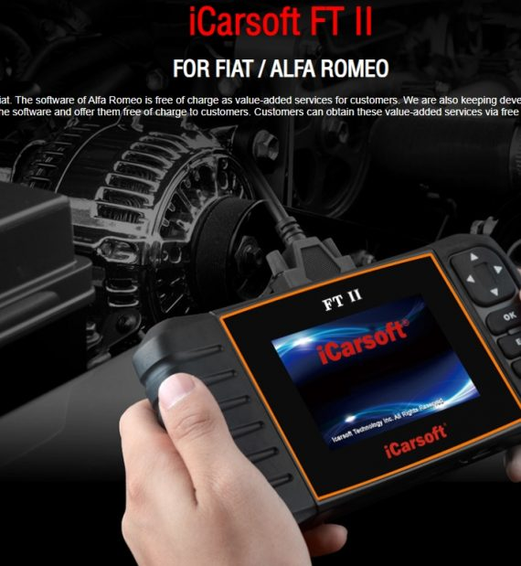 iCarsoft FT II Fiat Alfa Romeo autódiagnosztika