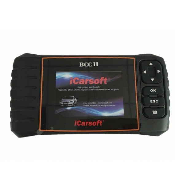 iCarsoft BCC II Chrysler Jeep GM autódiagnosztika