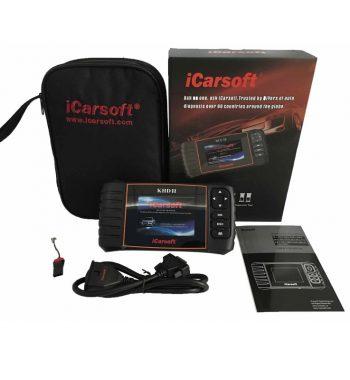 iCarsoft KHD II Kia Hyundai Daewoo autódiagnosztika