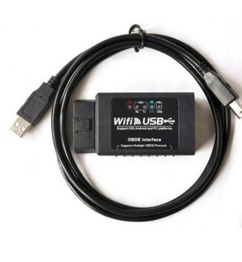 ELM327 WIFI-USB FTDI RS232 chippel