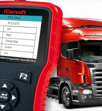 iCarsoft HD V3.0 teherautó és kamion diagnosztika